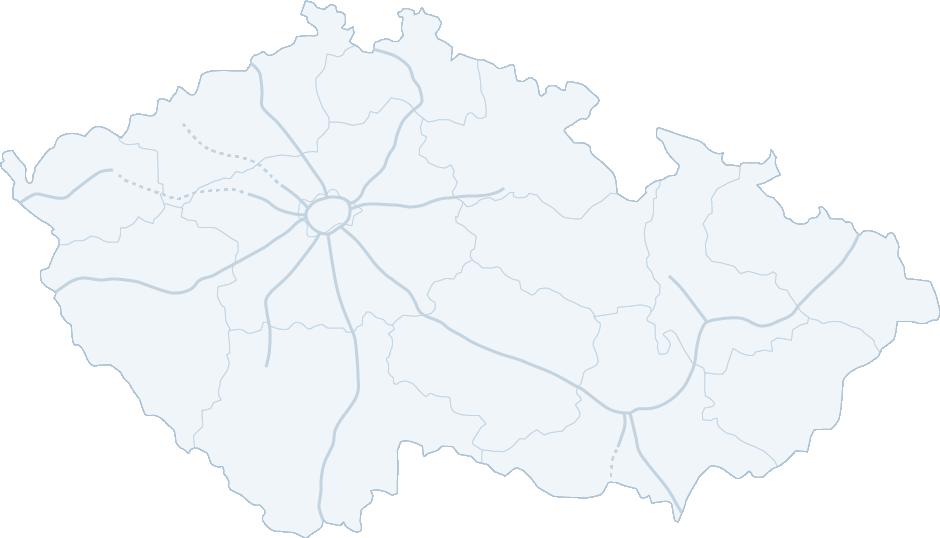 Mapa čerpacích stanic